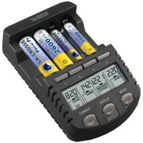 La Crosse Technologies BC1000 LC Battery Charger with batteries