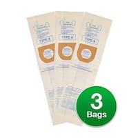 Replacement Vacuum Bag for Hoover UH30010COM Vacuum Model-Allergen Type 3 Bags/pk