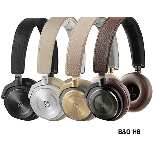 B&O PLAY by Bang & Olufsen Beoplay H8 Wireless On-Ear Headphone w/ ANC Active Noise Cancelling, Bluetooth 4.2