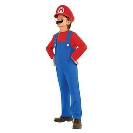 Super Mario Bros. Mario Child Costume Size 4-6