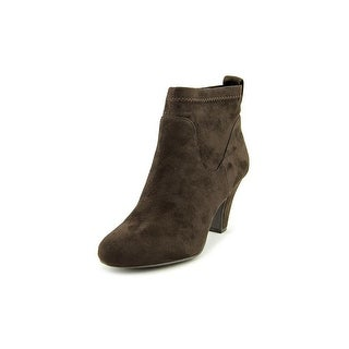 BCBGeneration Delilah Pointed Toe Canvas Ankle Boot