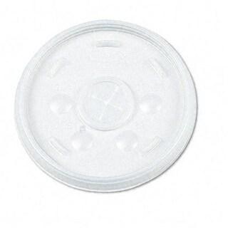 Plastic Lids- for 12-oz. Hot/Cold Foam Cups- Slip-Thru Lid- WE-