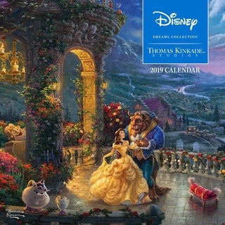 Kinkade Disney Collection Wall Calendar, Kinkade by Andrews McMeel Publishing