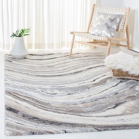 Safavieh Cyrus Shag Sabrine Abstract 1-inch Thick Rug