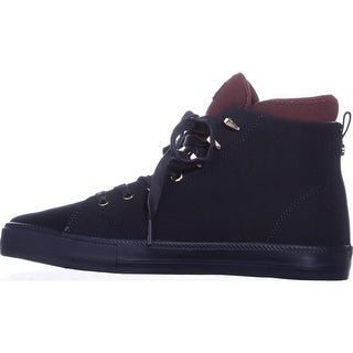 Tommy Hilfiger Womens Tadzia Hight Top Lace Up Fashion Sneakers