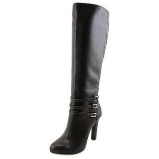 INC International Concepts Brookey Wide calf Women Brown Knee High Boot