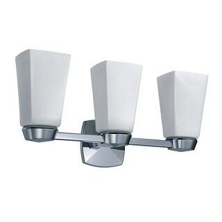 Gatco 1696 Jewel Triple Light Bathroom Wall Sconce - Chrome - n/a