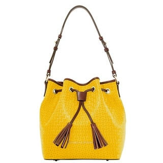 Dooney & Bourke Claremont Woven Drawstring (Introduced by Dooney & Bourke at $328 in Jun 2015) - Mustard