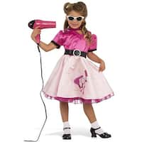 Rubies 50's Beauty School Girl Child Costume - Pink