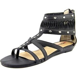 American Rag Bradden Women Open Toe Synthetic Black Gladiator Sandal