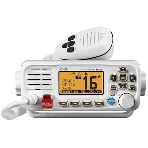 Icom M330 Compact VHF Radio - White M330 Compact VHF Radio - White