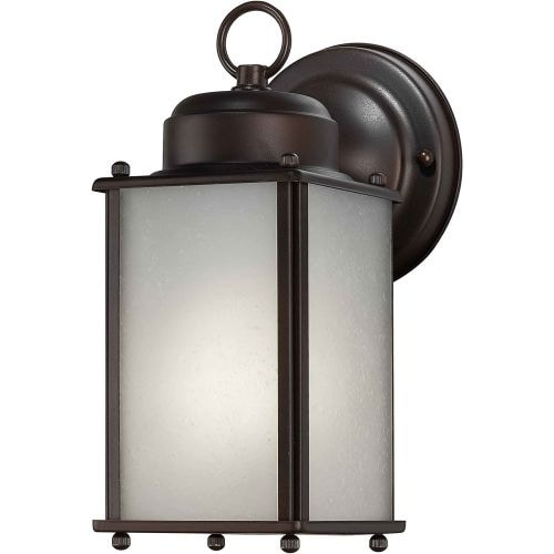 Forte Lighting 10007-01 Modern / Contemporary Energy Efficient Fluorescent Outdoor Wall Sconce 4.5Wx