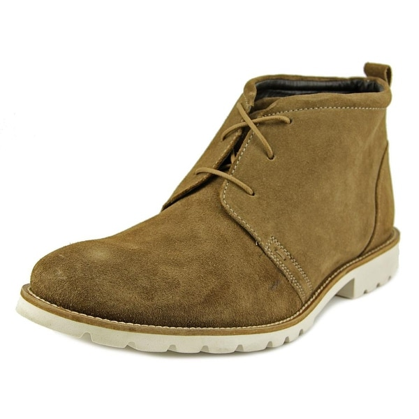 Rockport Charson Men Round Toe Suede Tan Chukka Boot