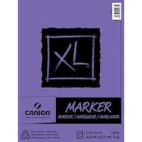 "Canson Xl Marker Paper Pad 9""X12""-100 Sheets"