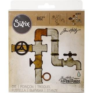 "Sizzix Bigz Die By Tim Holtz-Pipeline .25"" To 3.125"""