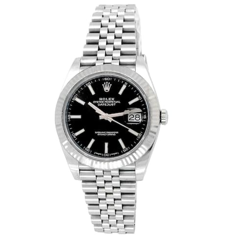 Pre-owned 41mm Rolex Datejust 41 Watch