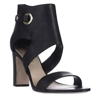 Via Spiga Adra Ankle Cuff Dress Sandals, Black
