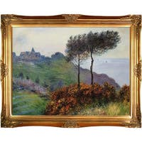 Claude Monet 'The Church at Varengeville' Hand Painted Oil Reproduction