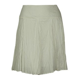 INC International Concepts Women's Cotton Mini Skirt