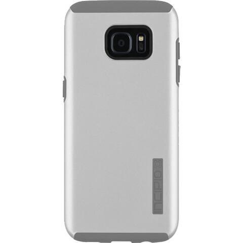 Incipio DualPro Case for Samsung Galaxy S7 Edge (Iridescent Grey/Grey)