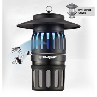 Dynatrap Dt1050 Indoor/Outdoor Electric Insect Eliminator (1/2 Acre) - Black