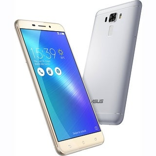 "Manufacturer Refurbished - ASUS ZenFone 3 Laser ZC551KL 32GB Smartphone 2GB RAM 5.5"" IPS Android 6.0 Silver"