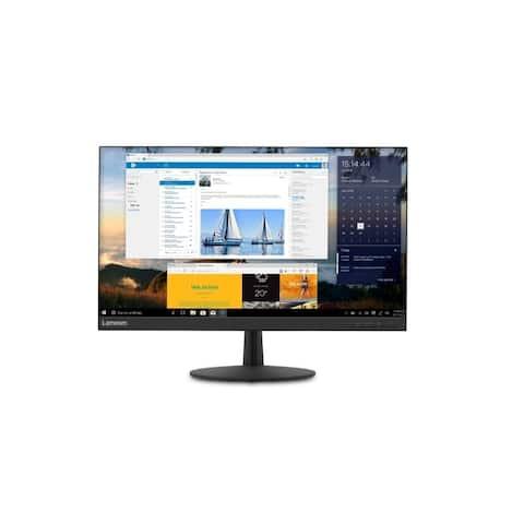 "Lenovo L27q-30 1440p 27"" IPS Monitor,Black(Certified Refurbished)"