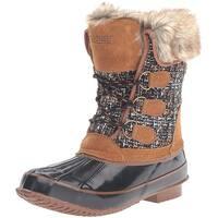 Khombu Julliard Duck Boot Tan/Black - 7 b(m)