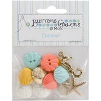 Button Theme Pack-Beach Treasures