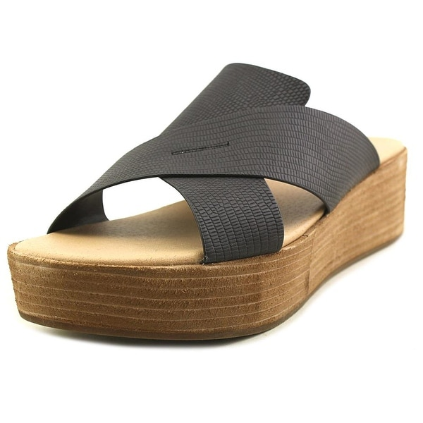8d0f37ab52eb Shop Coconuts By Matisse Study Black Sandals - Free Shipping Today ...