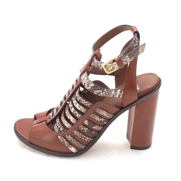 Cole Haan Womens Lourdessam Peep Toe Casual Strappy Sandals - 6