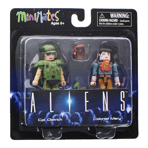 Aliens Minimates Series 1 2-Pack: Cpl. Dietrich & Colonist Mary - multi