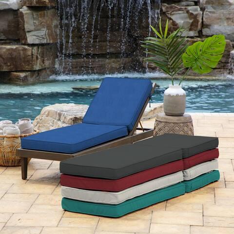 Arden Selections ProFoam Chaise Acrylic Lounge Cushion