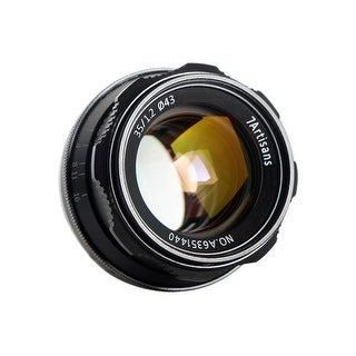 7artisans 35mm f/1.2 Manual Lens (Black) for Sony E-Mount Cameras - Black
