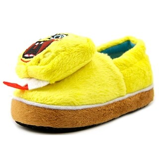 Nickelodeon Spongebob Sneaker Slipper Round Toe Synthetic Slipper