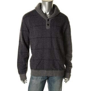 Tommy Hilfiger Mens Wool Long Sleeves Pullover Sweater - XL