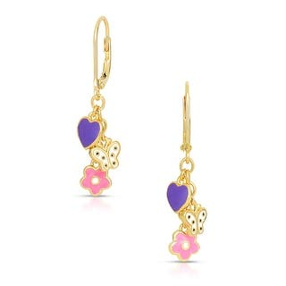 Lily Nily Girl's Flower, Butterfly, Heart Charms Leverback Earrings|https://ak1.ostkcdn.com/images/products/is/images/direct/d92eaa7176fbf5b408ae65d35cfa8da263194c39/Lily-Nily-Girl%27s-Flower%2C-Butterfly%2C-Heart-Charms-Leverback-Earrings.jpg?impolicy=medium