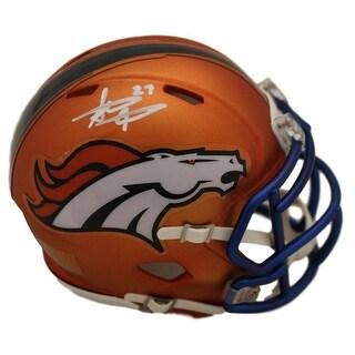 Shop Steve Atwater Autographed Denver Broncos Blaze Mini