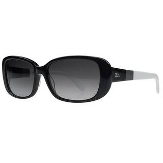 Lacoste L749/S 001 Black Rectangular Sunglasses - 57-16-135