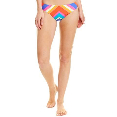 Trina Turk Sunset Chevron Hipster Bikini Bottom