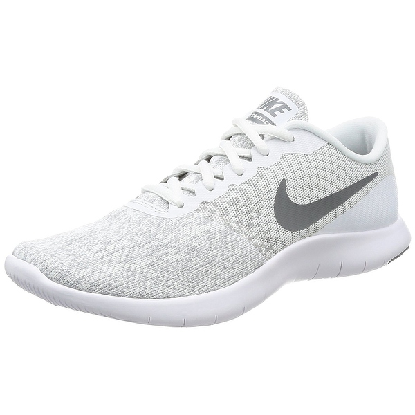 Nike Women's Flex Contact White/Cool Grey Running Shoe Women
