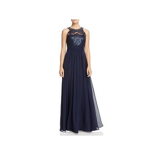 Eliza J Womens Evening Dress Sleeveless Full-Length
