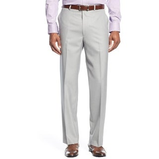 Sean John Mens Dress Pants Flat Front Slit Pockets