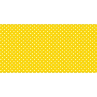 Fadeless Design Paper Roll, 48 in x 12 ft, Yellow Dots