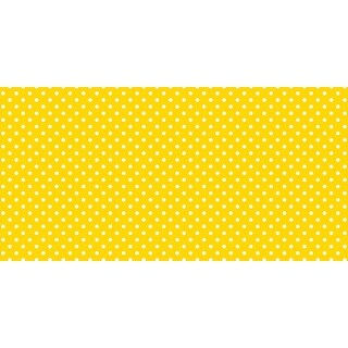 Fadeless Designs Paper Roll, Classic Dots Yellow, 48 Inches x 12 Feet