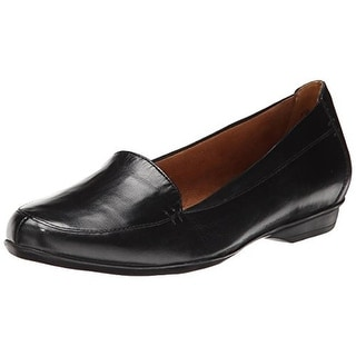 Naturalizer Womens Saban Loafers Leather Slip On