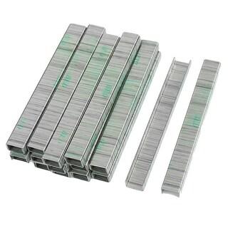 Paper Document Binding 7mm Shank 10mm Width Steel Staples