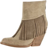 Very Volatile Women's Khloe Fringe Ankle Booties