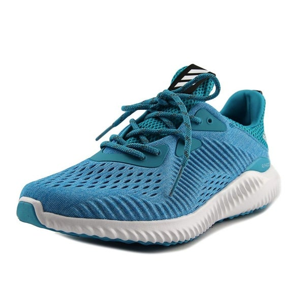 the best attitude 74ef9 ebbdb Adidas Alphabounce Engineered Mesh Women Round Toe Canvas Blue Sneakers