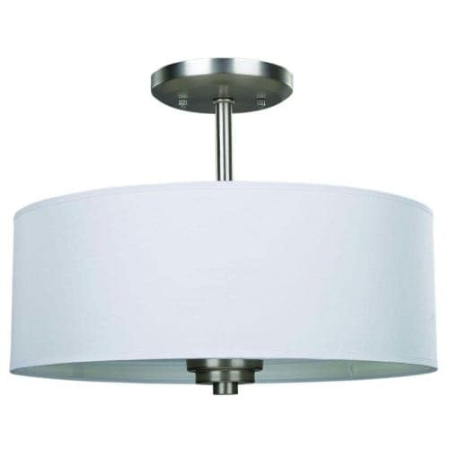 Canarm isf280a03 pier 3 light 14 12 wide semi flush drum ceiling canarm isf280a03 pier 3 light 14 12 wide semi flush drum ceiling fixture free shipping today overstock 23446462 aloadofball Choice Image